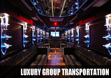 party bus group transportation